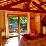 Vue intérieur de la cabane 1